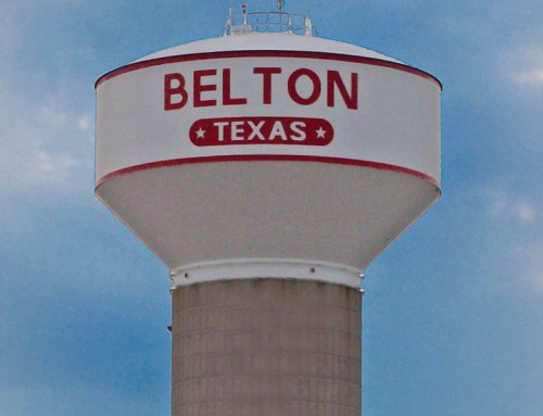 Rehabilitation of 750,000 Gallon Elevated Storage Tank – City of Belton, Texas