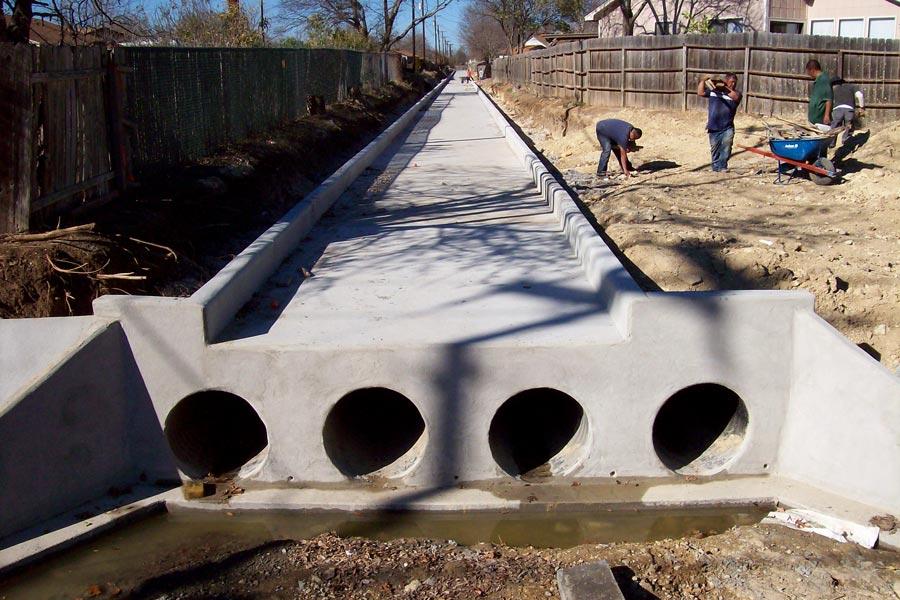 Bowman Road Drainage Improvements - Round Rock, Texas