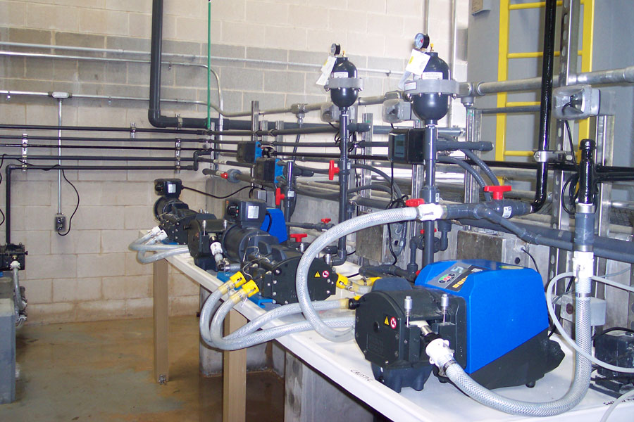 Membrane Water Treatment Plant Chemical Clean-in-Place Modifications – Temple, Texas