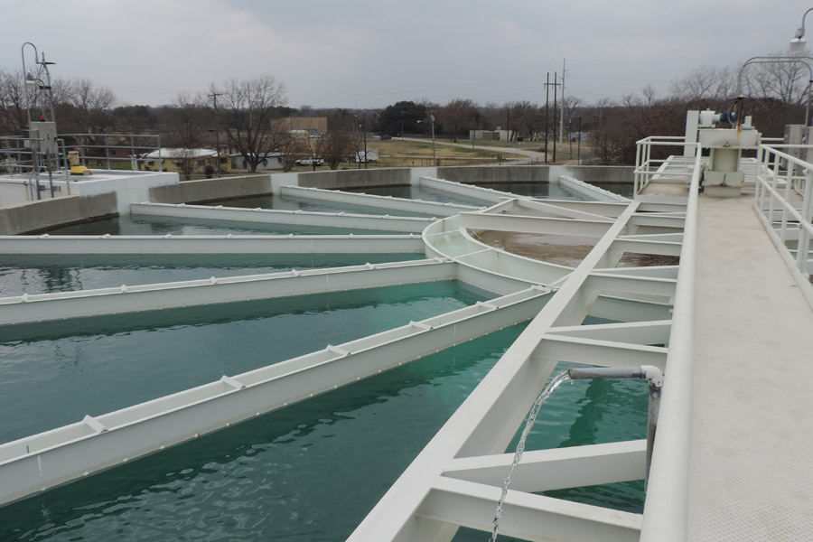 Temple WTP Clarifier and Gravity Thickener Rehabilitation - City of Temple, Texas