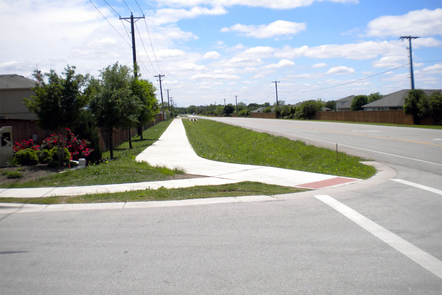 FM 1660 Sidewalk Improvements - Hutto, Texas