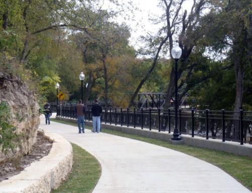 Nolan Creek Hike and Bike Trail – Belton, Texas