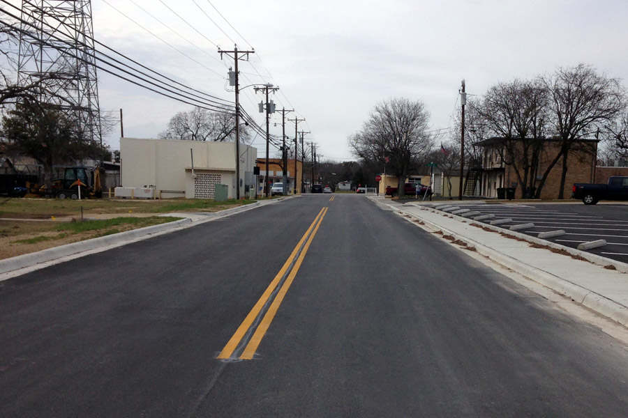 Avenue H Roadway Improvements - Nolanville, Texas
