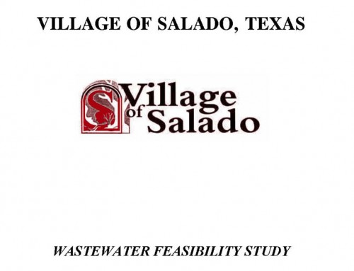 Wastewater System Feasibility Study – Village of Salado, Texas