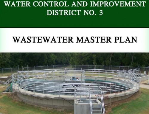 Wastewater Master Plan – WCID No. 3 – Nolanville, Texas